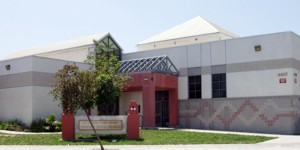 exterior photo of the Junipero Serra Branch Library