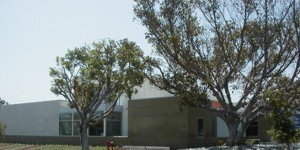 Exterior view of the Westchester - Loyola Village Library