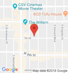 Map for Pio Pico - Koreatown Branch
