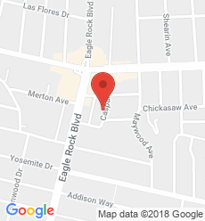 Map for Eagle Rock  Branch
