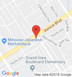Map for Mar Vista Branch