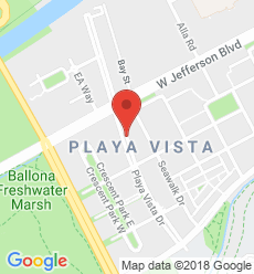 Map for Playa Vista Branch