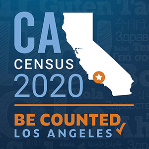 CA Census 2020 - Be Counted Los Angeles