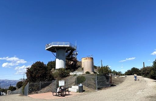 The LA-96 Nike Missile Site on San Vicente Mountain near Encino