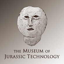Logo for the Museum of Jurassic Technology