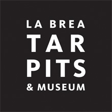 Logo for the La Brea Tar Pits and Museum