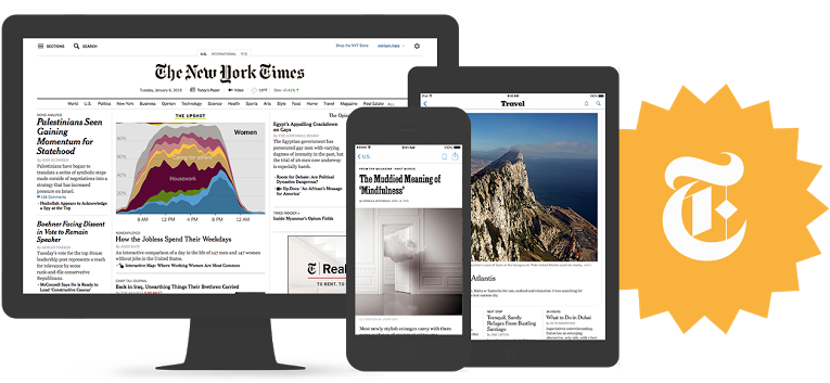 New York Times Digital Edition