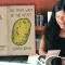 Zine author, Sanaa Khan and her zine, The Many Ways of The Potato