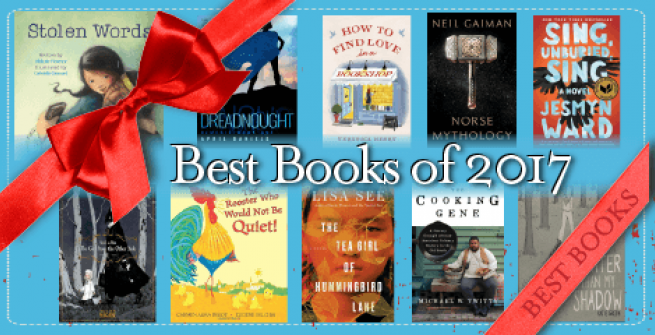 Some of the book covers for this year's best books