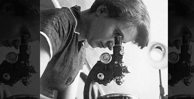 English chemist and X-ray crystallographer, Rosalind Elsie Franklin