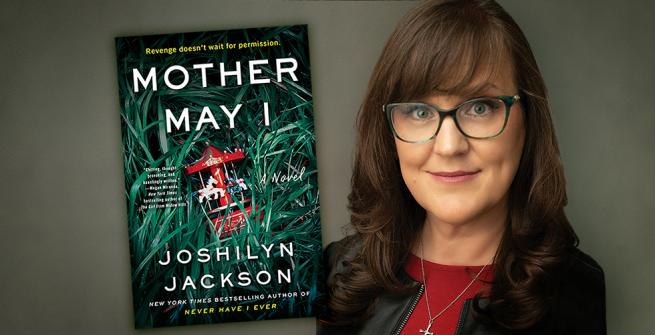 Author Joshilyn Jackson and her latest novel, Mother May I