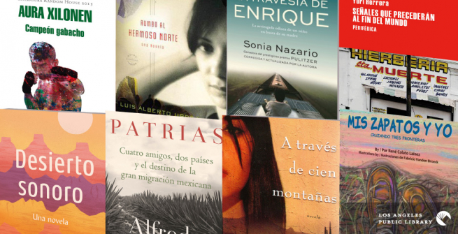 Collage of books