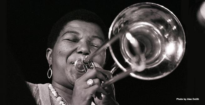 Melba Liston was a jazz trombonist and arranger.