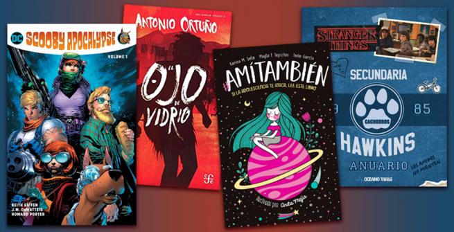 4 jóvenes  libros