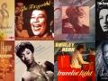 8 album covers of women jazz musicians