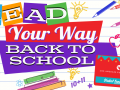 Read Your Way Back to School graphic