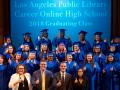 group photo of cohs graduates and dignitaries