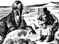The Walrus and the Carpenter speaking to the Oysters