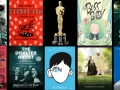a graphic of 8 oscar nominated movie posters