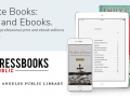 Pressbooks Public logo and text that reads create books