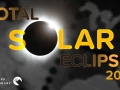 "Image of a total eclipse and text saying ""total solar eclipse 2017"""