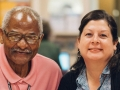 Pictured from left: Learner Mark Clemons and Literacy Coordinator Priscilla Rojas-Naiman