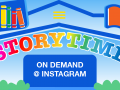 Storytime on demand graphic