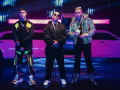 Musicians Lunay, Bad Bunny, and Daddy Yankee