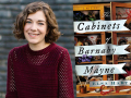 Author Elsa Hart and her latest book, The Cabinets of Barnaby Mayne