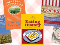 Collage of American cuisine books