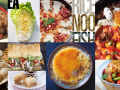 Book covers of delicious Asian Pacific food and cooking