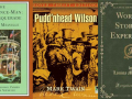 Book covers of other books to read than Huck Finn and Moby Dick