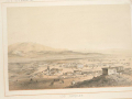 "Hansen sketch of Los Angeles after statehood. A War Department publication in 1856, ""Reports of Explorations and Surveys"""