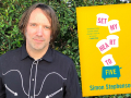 Author and screenwriter, Simon Stephenson and his latest book, Set My Heart to Five