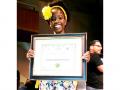 New L.A. Youth Poet Laureate, Amanda Gorman, 16, A student at New Roads High School