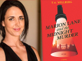 Author T.A. Willberg and her debut novel, Marion Lane and the Midnight Murder