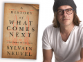Author Sylvain Neuvel and his latest novel, A History of What Comes Next
