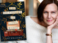 Author Pip Williams and her first novel, The Dictionary of Lost Words