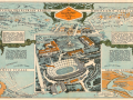 1932 Olympic Map Olympic Games Los Angeles Los Angeles