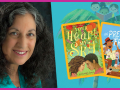 Margarita Engle and her books, Your Heart, My Sky and A Song of Frutas