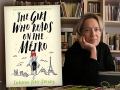 Author Christine Feret-Fleury and her latest novel, The Girls Who Reads on the Metro