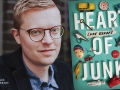 Luke Geddes and his debut novel, Heart of Junk