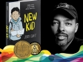 Author Jerry Craft and his book New Kid