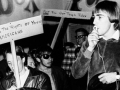 Protesters in front of Pandora's Box, Herald Examiner Collection, photo dated November 20, 1966