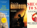 cover of three of the books featured on the blog posts