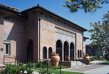 Exterior view of the Pico Union branch