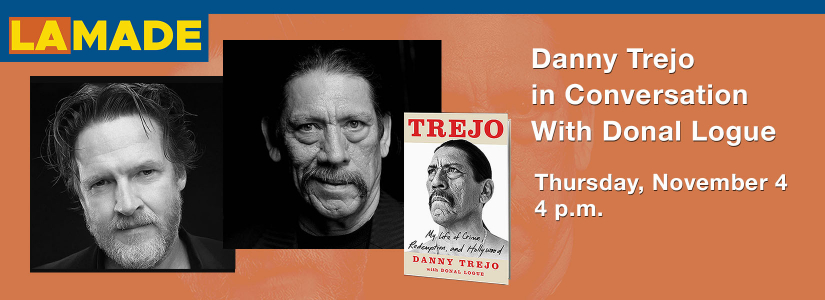 Portaits of Danny Trejo and Donal Logue