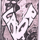 art cover of a zine