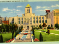 1935 postcard of the Los Angeles Central Library