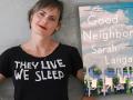 Author Sarah Lagan and her latest novel, Good Neighbor